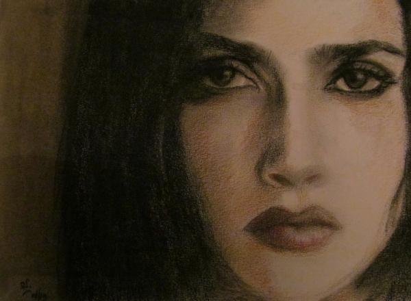 Salma Hayek by RichardV